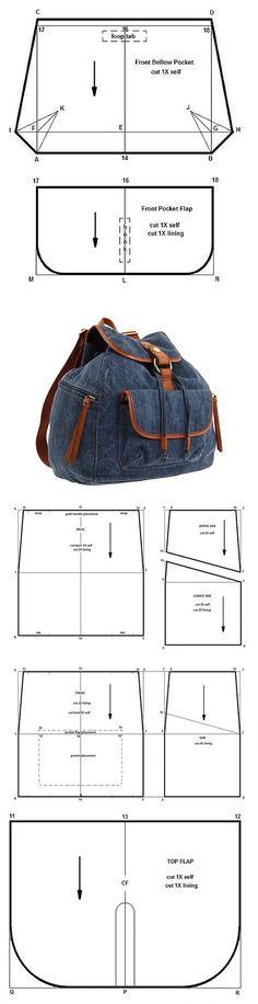 riflový batoh