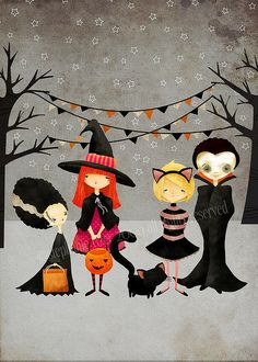 The Boo Crew by StephanieFizerColeman, via Flickr