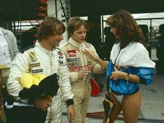 René Arnoux - Gilles Villeneuve-from F1 Fotos