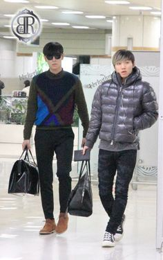 TOP and Daesung ♡ #BIGBANG
