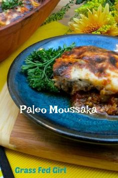 "Health & Fitness Tips : Illustration Description Paleo Moussaka – Mediterranean Paleo ""Life begins at the end of your comfort zone"" ! -Read More – Paleo Vegan Diet, Paleo Life, Vegetarian Paleo, Paleo Dairy, Dairy Free, Gluten Free, Moussaka, Paleo Recipes Easy, Real Food Recipes"
