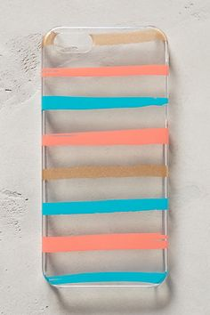 brushstrokes iphone 5 case #anthrofave