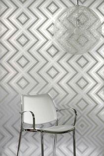 Flavor Paper Ziggy Diamond Wallpaper | 2Modern Furniture & Lighting