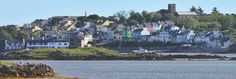 Roundstone Harbour as seen from Inishnee across the bay Connemara, North West, West Coast, New York Skyline, Ireland, Coastal, Adventure, Explore, Ann