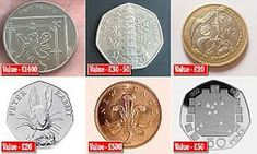 Valuable coins revealed: Why that could be worth Next time you& given a handful of change in a shop, stop and look. Some coins are worth much more than face value, we reveal some of the best. Rare Coins Worth Money, Valuable Coins, E30, Ted 2, Old Coins Value, Value Of Silver Coins, Rare British Coins, English Coins, Coin Dealers