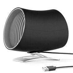 "WESTPOINTE 4/"" PERSONAL USB POWERED COMPUTER DORM ROOM /& OFFICE CUBICLE DESK FAN"