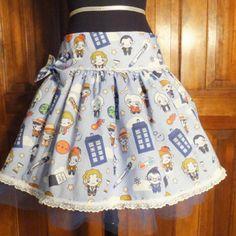 Doctor Who skirt. My, how I love etsy!