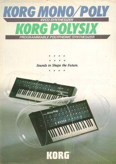 Double Trouble. #Korg #Polysix #Monopoly
