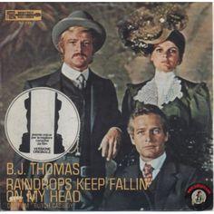 ARTISTA: B.J. THOMAS LATO A: RAINDROPS KEEP FALLIN' ON MY HEAD LATO B: NEVER HAD IT SO GOOD