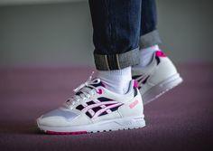 fb620a44b68330 Asics Gel Saga Pink Glo  asicsgelsaga  gelsaga  sneakers  asicstiger   onitsukatiger