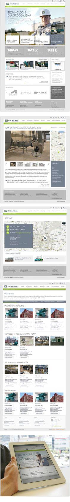 Aknova.pl - w pełnie responsywny serwis dla firmy AK Nova