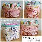 fabric basket free pattern ellisonlane.com