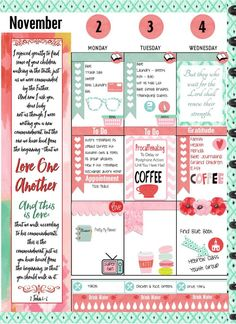 Free Printable Planner Pages to help you get organized by the day, week, month holiday or year. #Planneraddict #plannerlove at list from #pomplanner at BibleJournlaingdigital.com