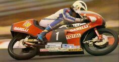 Angel Nieto Garelli 125 Gp Alemania 1984