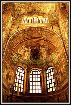 San Vitale. Byzantine.