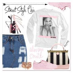 """""""Always Smile"""" by queenvirgo ❤ liked on Polyvore featuring мода, adidas и Accessorize"""