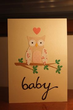 Owl (for a baby girl)