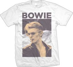 RIP - David Bowie -  January 8, 1947 – January 10, 2016 - http://www.band-tees.com/store/DVB1007!BRVDO/David+Bowie+Smoking+T-shirt