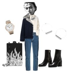 """""""Casual style"""" by umniyastyle on Polyvore featuring Balenciaga, Ann Demeulemeester, CLUSE, Carven and Edie Parker"""