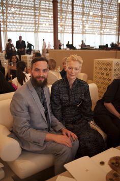 Chanel's Adventures in Dubai - Sandro Kopp and Tilda Swinton