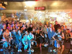 So, Sunday, this group of awesomeness became certified spin teachers. Best At Home Workout, At Home Workouts, Indoor Trainer, Indoor Cycling Bike, Muscular Strength, Spinning Workout, Sore Feet, Anytime Fitness