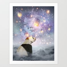 Buy Let Your Dreams Take Flight • (Panda Dreams 2) by Soaring anchor designs  as a high quality Art Print. Worldwide shipping available at Society6.com.…
