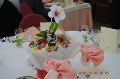 Centro de mesa de chuches