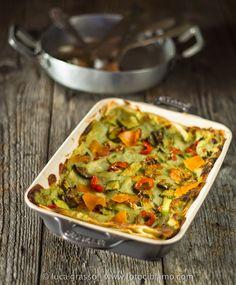 fotocibiamo - lasagne al forno con verdure
