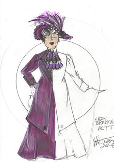 Lady Bracknell Act I The Importance of Being Earnest . Design Research, Costume Design, Plays, Theater, Disney Characters, Fictional Characters, My Design, Musicals, Aurora Sleeping Beauty