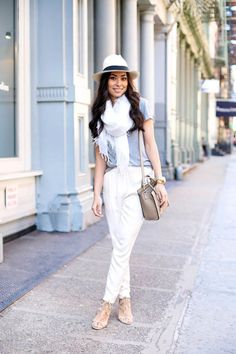 Spring Look - Soft Colors 0 Casual Chic