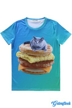 Kitten McGriddle Tee - Shop our entire collection of Cat Apparel! www.getonfleek.com