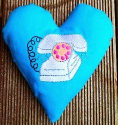 Hier mein 6. Herz für Dich: Ring Ring macht das Telefon