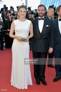Princess Stephanie of Luxembourg and Prince Guillaume of Luxembourg attend the 'Ismael's Ghosts (Les Fantomes d'Ismael)' screening and Opening Gala during the 70th annual Cannes Film Festival at Palais des Festivals on May 17, 2017 in Cannes, France.  (Photo by Pascal Le Segretain/Getty Images)