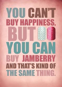 True dat. --Hannah Young, Jamberry independent consultant http://jamsicles.jamberrynails.net