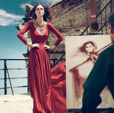 Nordstrom August 2010 Catalog With Coco Rocha | POPSUGAR Fashion
