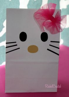 Hello Kitty birthday party bags