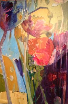 Acrylic on Canvas by Dorothy Ganek