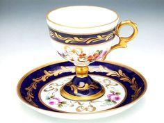 Old Paris Porcelain —  Teacup and Saucer (800x600)