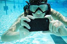 waterproof IPhone case with touch-sensitive gel screen