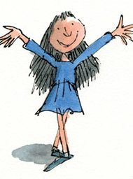 in the spirit of being enough....Quentin Blake, Matilda