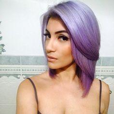 #purple #bob #hair