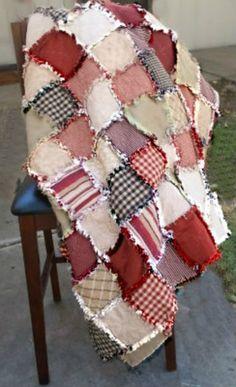 Modern Rag Quilt - Queen, $445.0