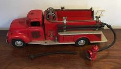 Vintage Tonka NO 5 Fire Truck Pumper W Hydrant | eBay
