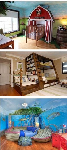 Funny pictures about Awesome bunk bed design. Oh, and cool pics about Awesome bunk bed design. Also, Awesome bunk bed design. Dream Rooms, Dream Bedroom, Kids Bedroom, Bedroom Ideas, Bedroom Themes, Master Bedroom, Bedroom Decor, Awesome Bedrooms, Cool Rooms