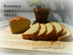 Ginny's Low Carb Kitchen: ROSEMARY HERB BREAD