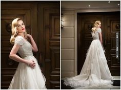 1950s Hollywood Glamour Wedding Inspiration |  Bandele Zuberi Photography | CHECK OUT MORE IDEAS AT WEDDINGPINS.NET | #weddings #weddingdress #inspirational