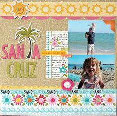 Project Ideas for Bella Blvd - Sand and Surf Collection - 12 x 12 Double Sided Paper - GPS