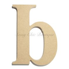 "Unfinished Wooden Lowercase Letter ""b""- Times Font Times Font, Letter B, Wooden Letters, Lower Case Letters, Wooden Diy, Lowercase A, Fonts, Products, Decorated Letters"