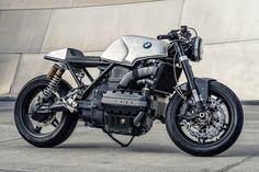 Killer K: Mike Flores' BMW K100 Cafe Racer via @bikeexif