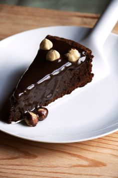 """NIGELLA LAWSON'S NUTELLA CAKE ~~~ this recipe is shared with us from the book, """"how to be a domestic goddess"""". [cupcakesncurries]"""